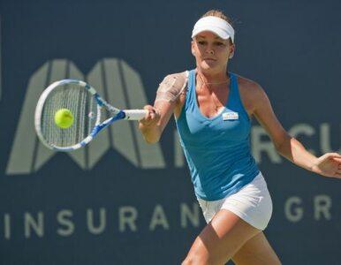 Turniej WTA w Montrealu: Radwańska przegrała z deszczem