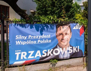 Dolny Śląsk. Wywiesił baner Trzaskowskiego. Wandale zniszczyli mu dom