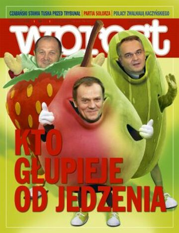 Okładka tygodnika Wprost nr 11/2008 (1316)