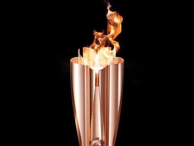 Pokazano pochodnię olimpijską na igrzyska w Tokio. Projekt nawiązuje do...