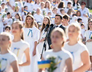 """Żona prezydenta Ukrainy ma koronawirusa. """"Niebezpieczeństwo nie minęło,..."""