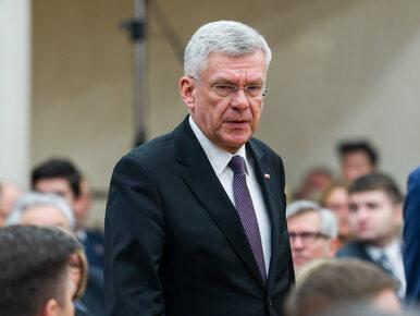 """Marszałek Senatu oburzony """"skandaliczną"""" publikacją """"Faktu"""". """"Nie będę..."""