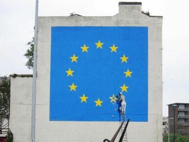 Tak Banksy widzi Brexit. O jego muralu stało się głośno na całym świecie