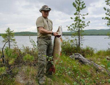 Rosyjska telewizja: Putin pojechał na ryby i...