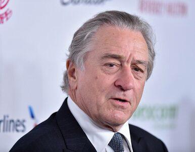 "Robert de Niro nazwał Trumpa ""debilem"". ""Na pohybel z nim"""
