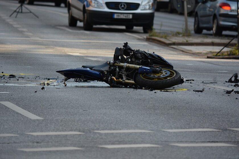 Wypadek motocyklowy (zdj. ilustracyjne)