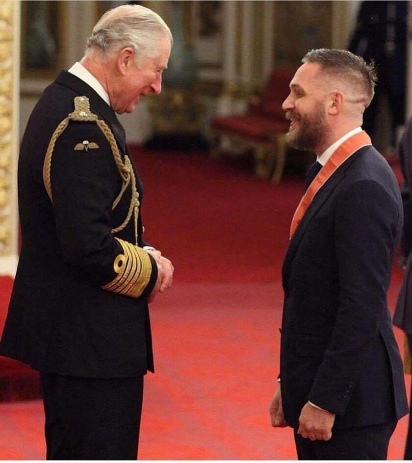 Książę Karol i Tom Hardy