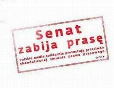 Senat próbuje kneblować polskie media? Redaktorzy naczelni protestują