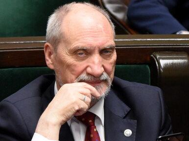 Macierewicz: Rosjanie ukryli rejestrator. Ten dowód zatuszowano