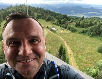 Prezydent relaksuje się w górach. Andrzej Duda pochwalił się zdjęciami