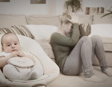 22 proc. matek z depresją poporodową ma ją w okolicach 12. miesiąca...