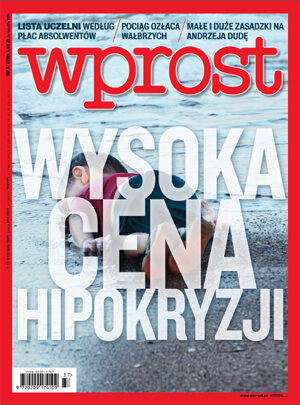 Okładka tygodnika Wprost nr 37/2015 (1696)