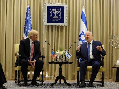 Donald Trump w Izraelu. Zapowiedzi pokoju, odtrącona ręka i zabawna...