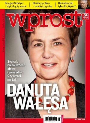 Okładka tygodnika Wprost nr 9/2012 (1515)