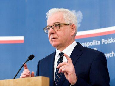 Zmiany kadrowe w MSZ. Jan Dziedziczak pożegnał się ze stanowiskiem
