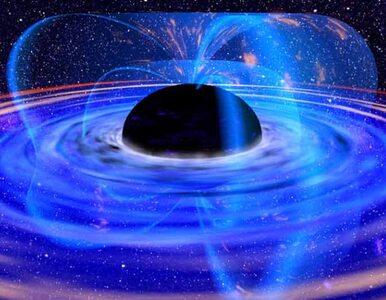 NASA: czarna dziura w centrum galaktyki wyrzuca plazmę