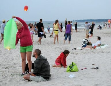 Pechowy bandyta spotkał na plaży... policjanta