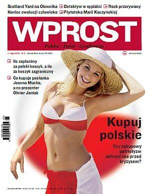 Okładka tygodnika Wprost nr 5/2009 (1360)