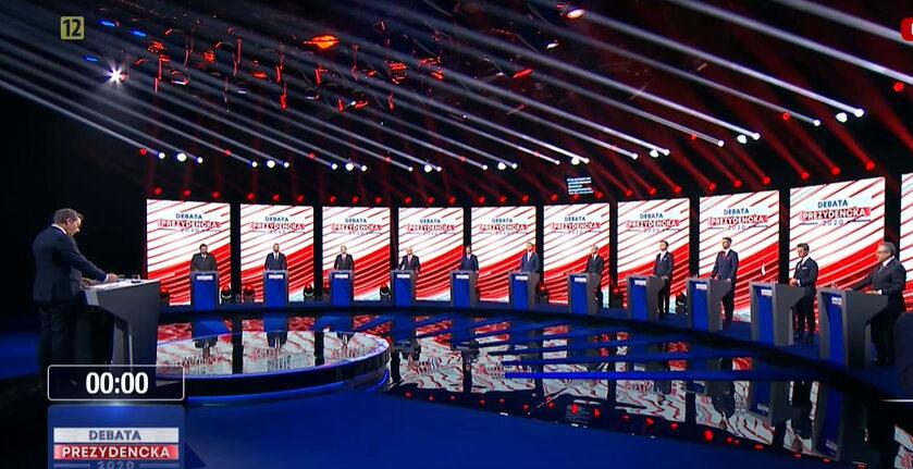 Debata prezydencka 2020