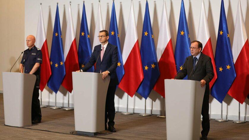 Jarosław Szymczyk, Mateusz Morawiecki, Mariusz Kamiński