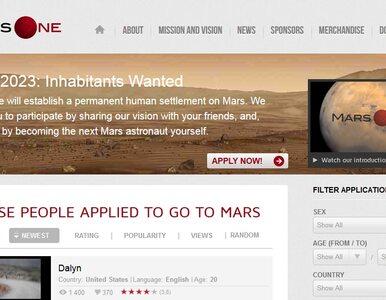 3 Polaków chce polecieć na Marsa