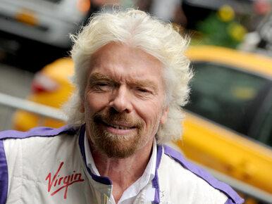 """67-letni Richard Branson szykuje się do lotu w Kosmos. """"To kwestia..."""