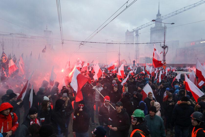 Marsz Niepodległości z 2017 roku