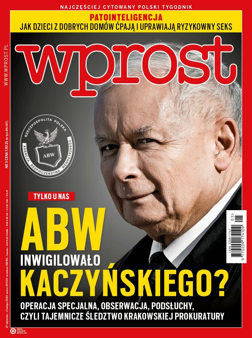 Tygodnik WPROST 5/2020 - Okładka