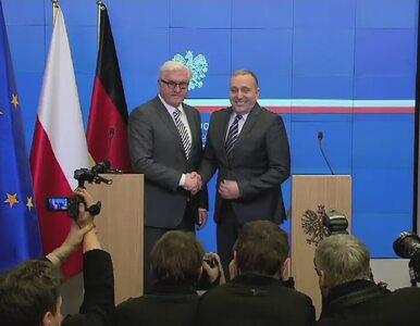 """Spotkanie szefów dyplomacji Niemiec i Polski. """"Znów na Ukrainie umierają..."""
