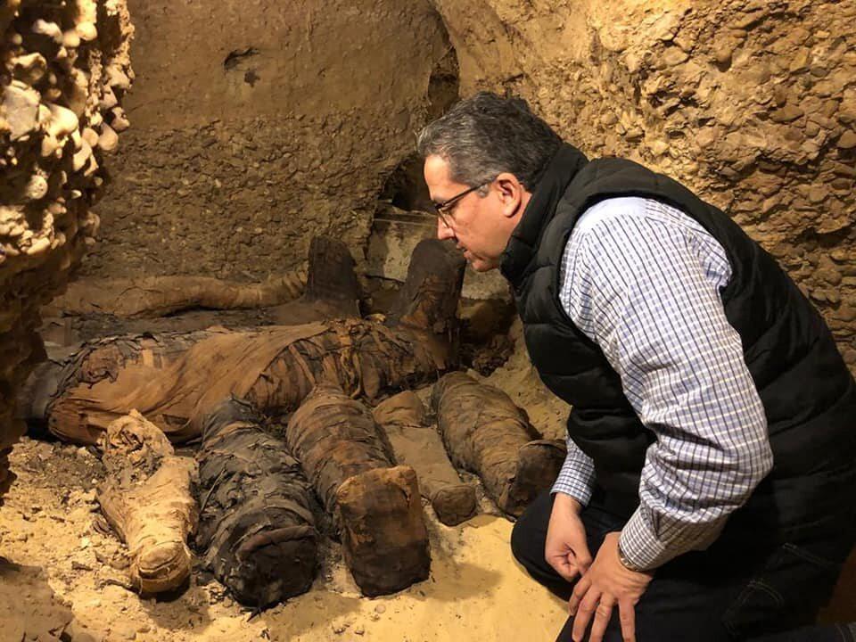 Odnalezione mumie