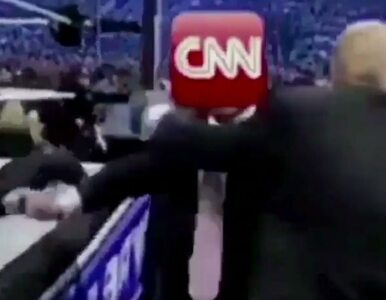 Trump na wojnie z CNN. Tym razem dosłownie znokautował stację