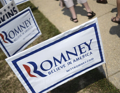 Romney lepszy od Obamy w zbieraniu pieniędzy
