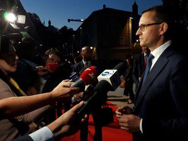 Premier Morawiecki o rozmowie z Junckerem i prof. Gersdorf