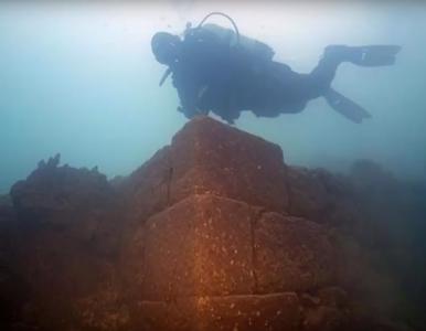Starożytna twierdza na dnie jeziora. Konstrukcja liczy trzy tysiące lat