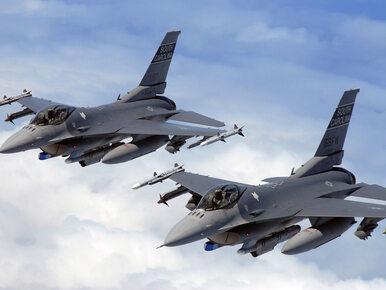 Pilot F-16 zrzucił zbiorniki paliwa do jeziora Ogawara
