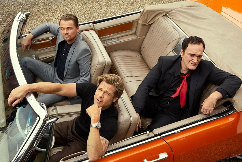 Leonardo DiCaprio, Brad Pitt i Quentin Tarantino