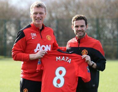 Moyes nie pożegnał piłkarzy. Ale jego pożegnał Juan Mata
