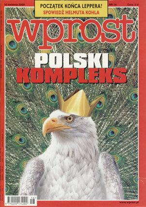 Okładka tygodnika Wprost nr 16/2000 (907)