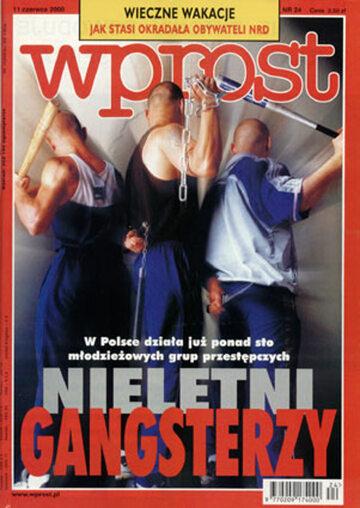 Okładka tygodnika Wprost nr 24/2000 (915)