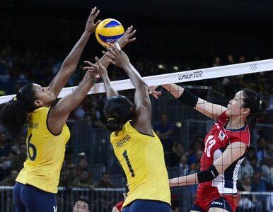 Londyn: druga porażka brazylijskich siatkarek - tym razem pobiły je...