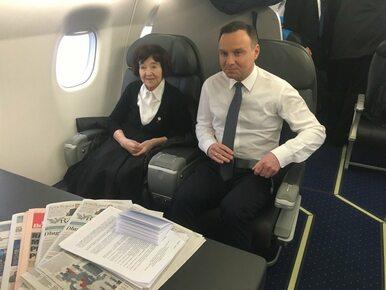 Andrzej Duda na obchody wyzwolenia Auschwitz zaprosił córkę płk. Witolda...