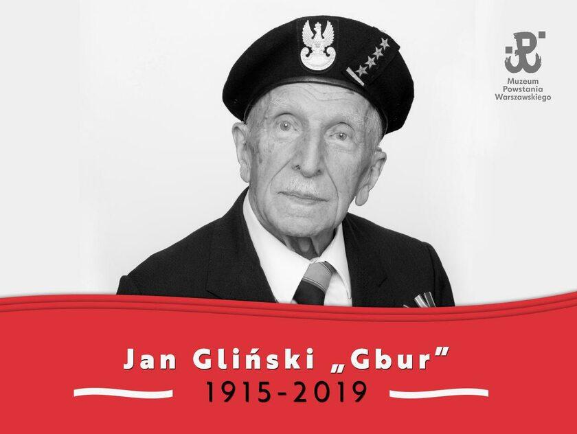"Jan Bohdan Gliński ps. ""Gbur"", ""Doktór Jan"""