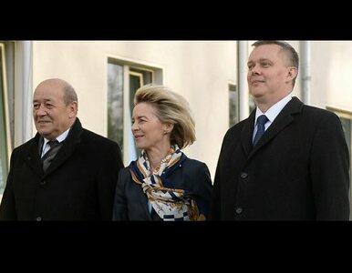 """""""Francja, Niemcy i Polska mają wspólne interesy bezpieczeństwa"""""""
