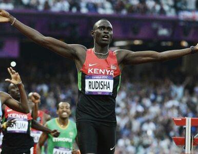 David Rudisha ma złoto i rekord świata. Nikt tak szybko na 800 metrów...