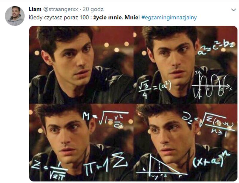 Mem po egzaminie gimnazjalnym z języka polskiego