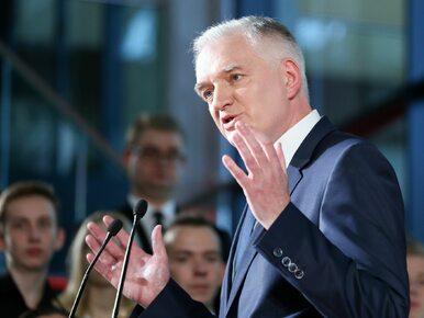 Kongres 590. List wicepremiera Jarosława Gowina