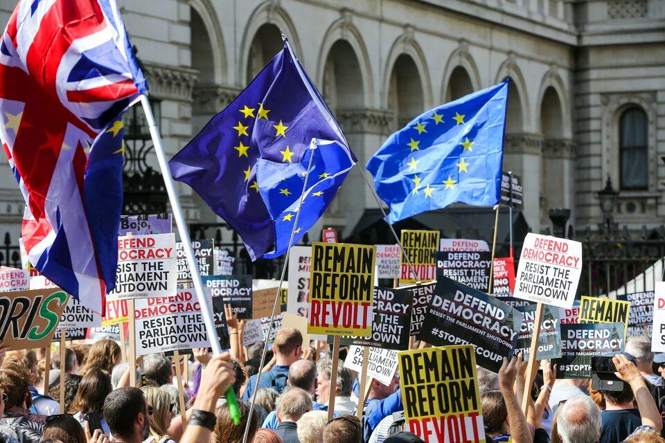 Londyńska demonstracja przeciwko brexitowi