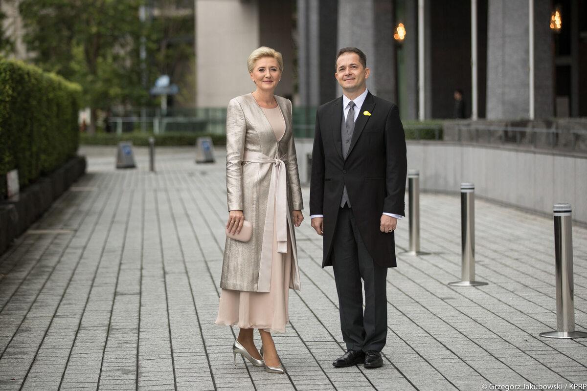 Agata Kornhauser-Duda reprezentowała w Tokio Polskę podczas ceremonii intronizacji cesarza Japonii