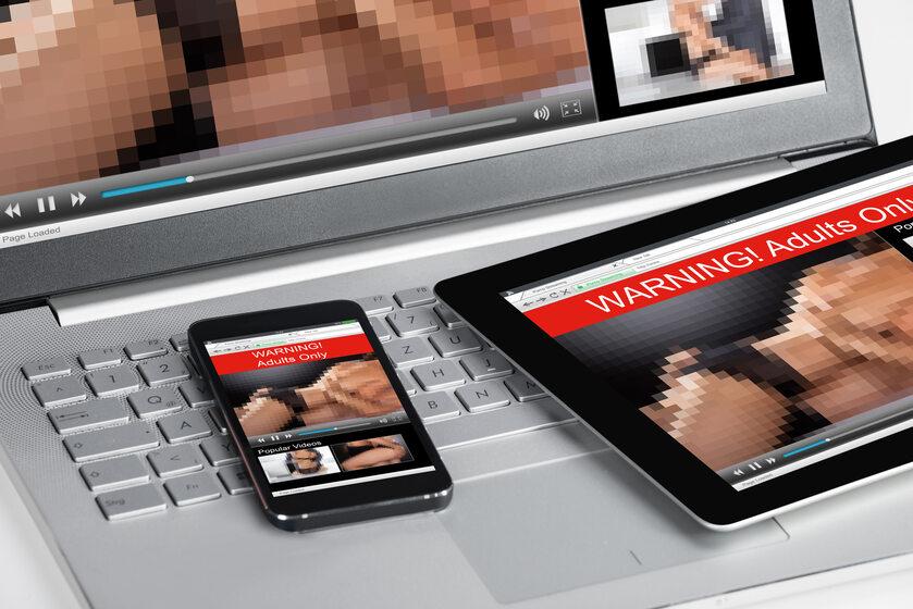 Pornografia online (zdj, ilustracyjne)
