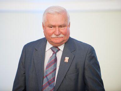 Lech Wałęsa spotkał się ze światowej sławy aktorką. Założył koszulkę z...